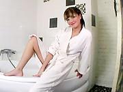 Teen nubile jilly gets wet in the bathtub literally